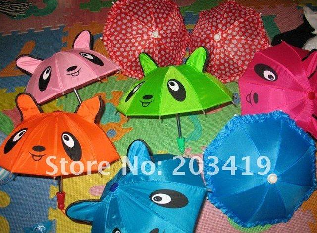 mini 3D animal cartoon toy umbrella with ears multi colors gift for kids party games dance educational CN post