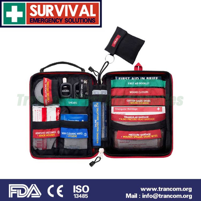 First Aid Kit Medical Emergency Color Coded