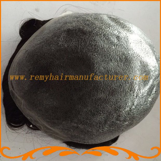New arrival,8*10 base Full PU thin skin, Indian hair,mens wigs, injected skin,stock men toupee free shipping DHL,FEDex(China (Mainland))