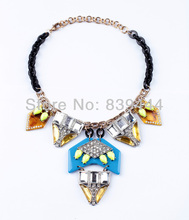 Burnished Gold Plated Jewelry Shiny Underwear Resin Necklace(China (Mainland))
