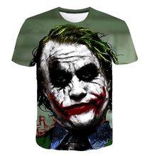 Футболка отряд самоубийц женские мужские Харли Квинн Джокер футболки человек 3D футболка черный, красный короткий рукав одежда плюс размеры...(China)