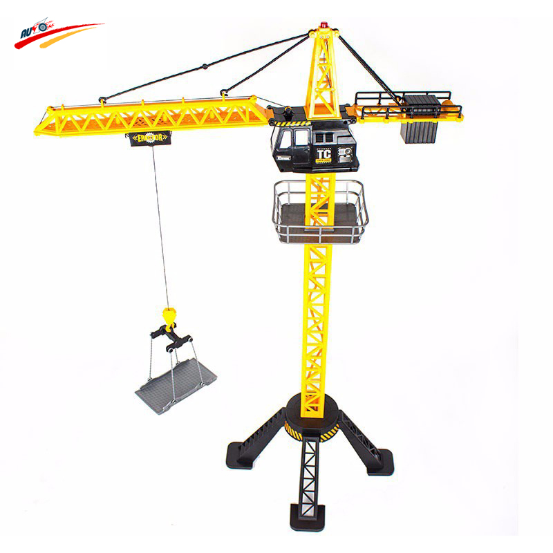 88cm RC Crane Remote Control crane tower 6 Channel Simulation Tower Crane 360 degree Rotate Crane engineer construction Toys(China (Mainland))