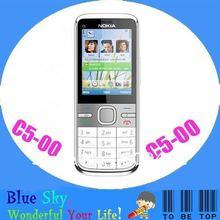 Nokia C5-00 unlockd phones Original quad band phone free shipping(China (Mainland))