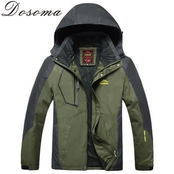 Autumn Men Outdoor Waterproof Jacket Camping Hiking Jackets Hunting Climbing WindStopper Rain Fishing Sport Windbreaker DSM055