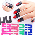 50Pcs Manicure Tool Anti Overflow Stick U Type Oil Spill Protector Nail Stickers Nails Tool 5