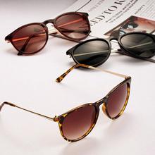 Sun Glasses Women s Retro Round Eyeglasses Metal Frame Leg Spectacles 5 Colors Sunglasses SHM