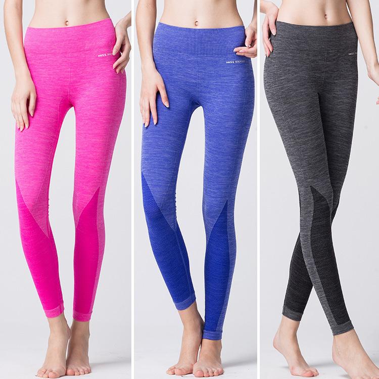 Women Yoga Sports Pants Women Compression Running Tights ...