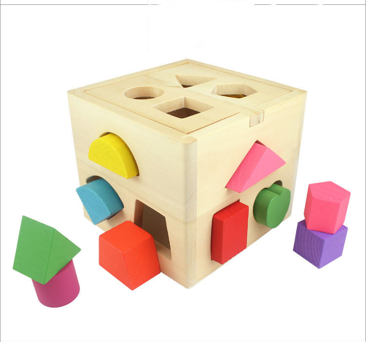 Educational Toys For Children Original Ecofrirendly Non-toxic Plain Wood Baby Toys Development Toys Baby Gift Montessori Toys(China (Mainland))