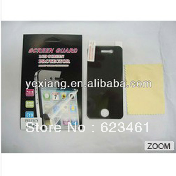 Mobile phone anti-spy protective Film for Iphone4/4s privacy screen protector