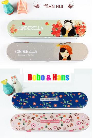 New fashion good life style Tin Pencil case / Pen box / Fashion / Wholesale(China (Mainland))