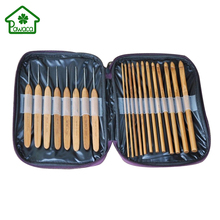 Buy 20Pcs/Set Lightweight Bamboo Crochet Hooks Knitting Weave Needles Set Case Mummy DIY Sweater Craft Yarn Sewing Tools for $8.21 in AliExpress store