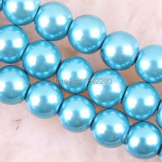 "Free shipping! Wholesale 8MM Blue Magnetic Hematite Round Loose Beads 16"" 2 piece/lot fashion jewelry JT6326(China (Mainland))"