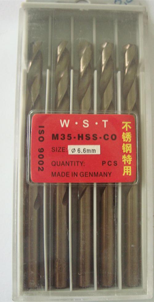 Сверло JR 6.6mm 10 = 1lot M35 сверло jr 2 5 95 2 10 1lot 60 2 5 95mm