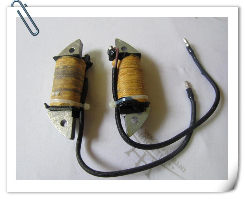 O envio gratuito de motores de popa Hangkai 2 tempos 4.0 cavalos de potência/barco/motor de popa/barco gancho acessórios bobinas de ignição(China (Mainland))
