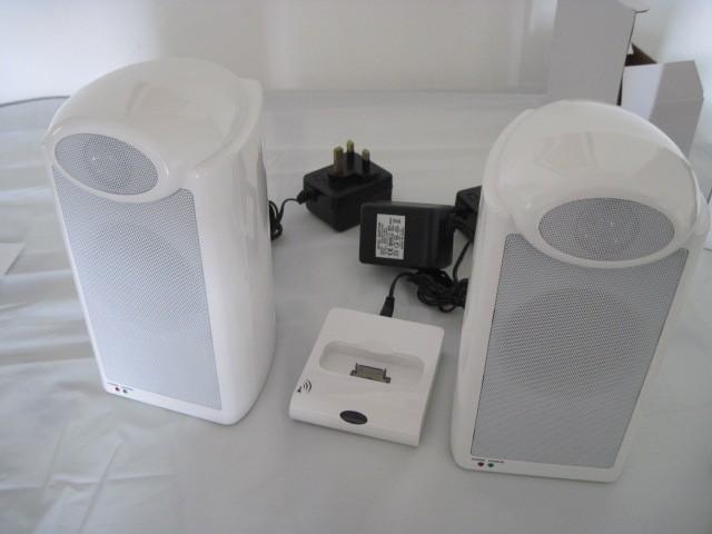 wireless speakers & dock transmitter