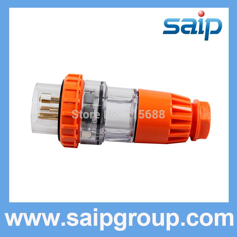 NEW HOT SELL EUROPEAN WATERPROOF PLUGS AND SOCKETS SAIPWELL BRAND OUTSIDE USE 15A IP66 56P-320(China (Mainland))