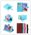 New Top Quality Fashion PU Leather Dirt resistant 360 Rotation Ultra Thin Flip cellphone cover Cases