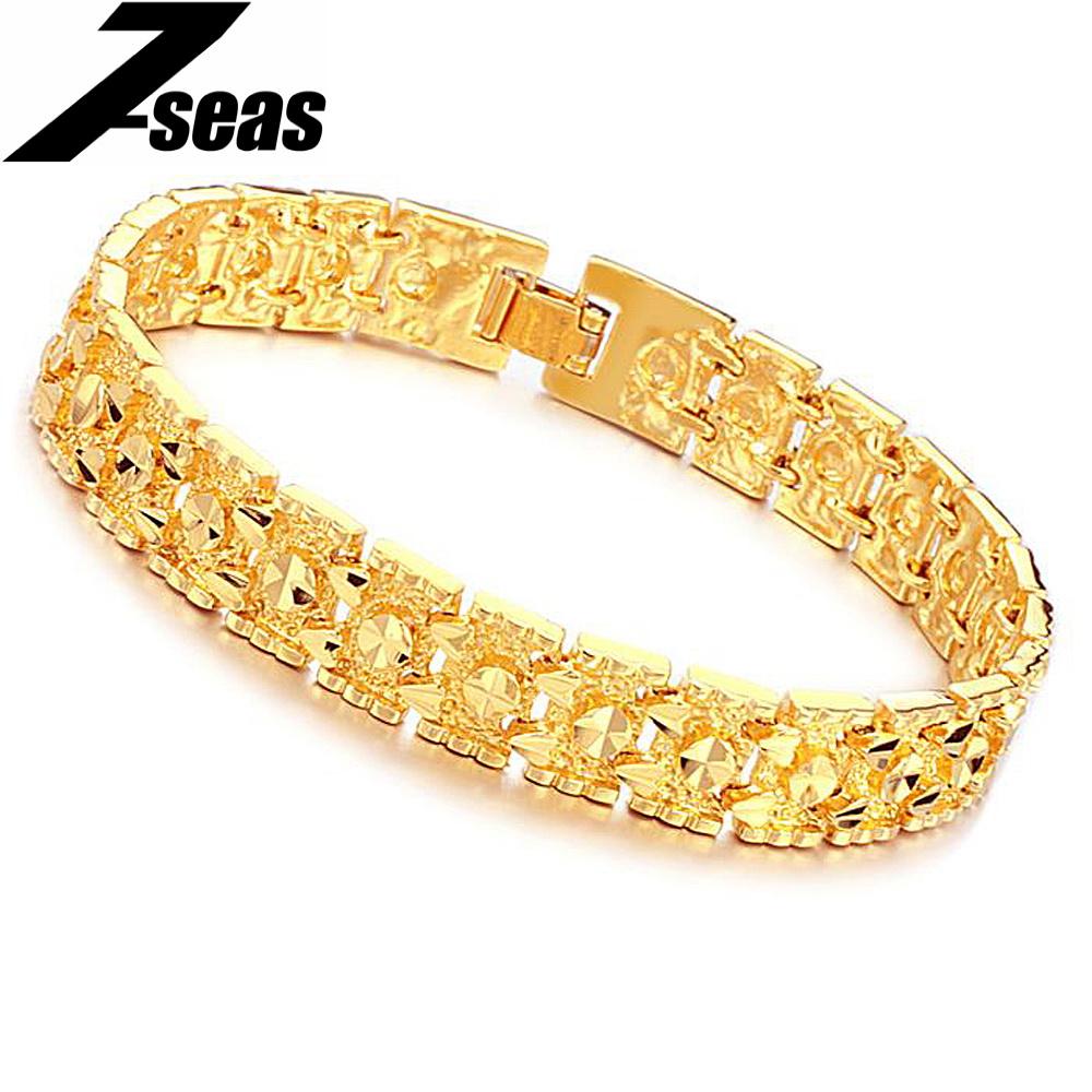 Gold мужские браслеты