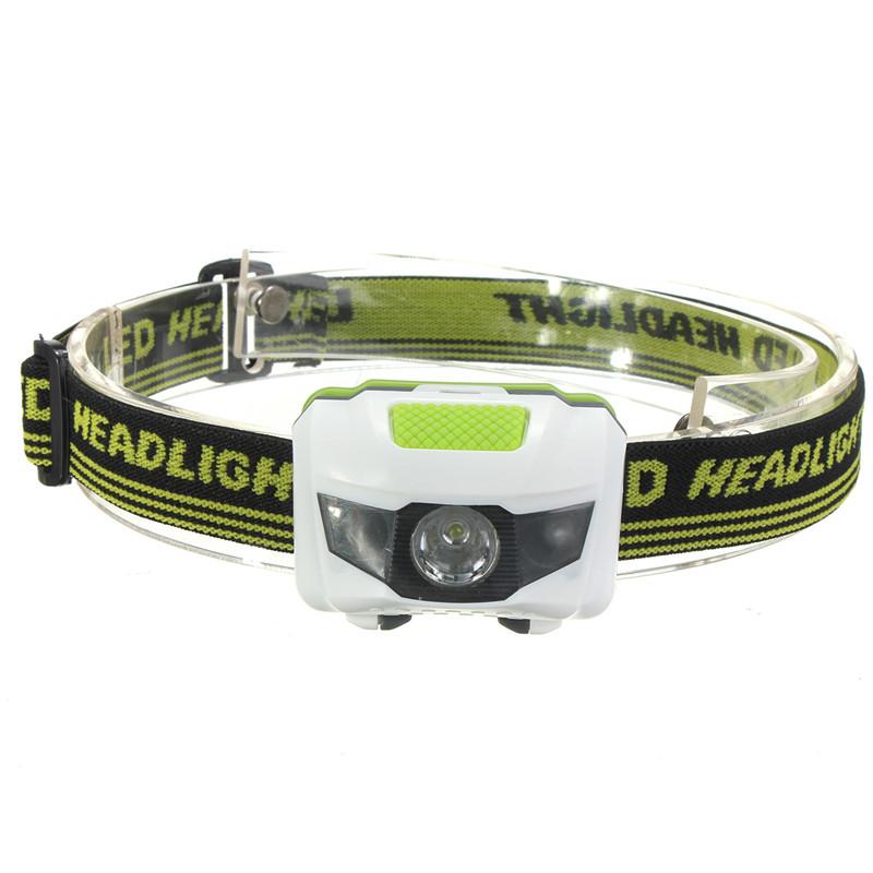 Mini 60x40x35mm 4 Mode Waterproof 600Lm CREE R3 2 LED Flashlight Super Bright Headlight Headlamp Torch Lanterna with Headband(China (Mainland))