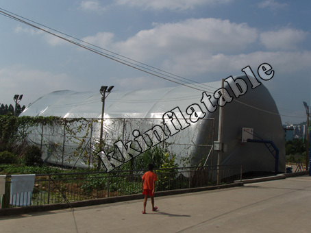outdoor waterproof and fireproof inflatable sport dome, inflatable tennis sports tent KKT-063(China (Mainland))