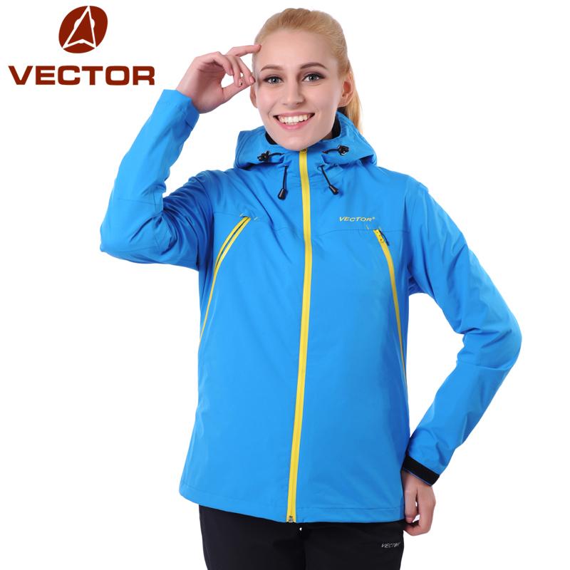 VECTOR Outdoor Jacket Women Windproof Waterproof Jacket Female Mountain Camping Hiking Jackets Windstopper Windbreaker 60006(China (Mainland))
