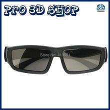 Free shipping 4pcs/Lot Passive 3D Glasses for RealD 3D Cinemas and LG Passive 3D TV Circular Polarized 3D Glasses(China (Mainland))