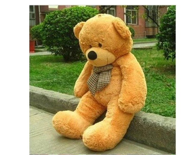 1.2M Giant Huge Cuddly Stuffed Plush Teddy Bear Toy Animal Doll Kid Gift
