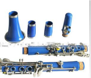 B the clarinet clarinet double second section tube (blue)(China (Mainland))