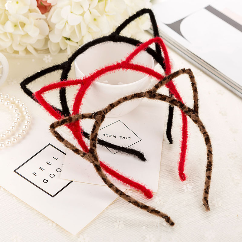 Wholesale Hair Style Girl Colorful Crown Headband Princess Children & Women Hair Accessories Girls Cat Ear Hair Band(China (Mainland))