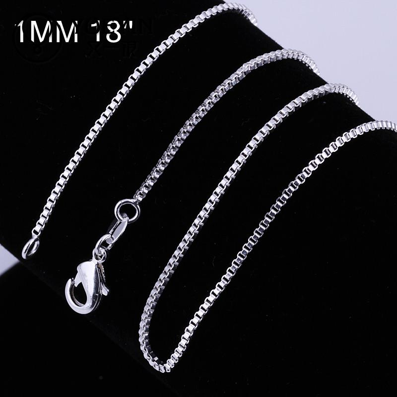 C007-18 Hot sale fashion different sizes silver snake chain(China (Mainland))