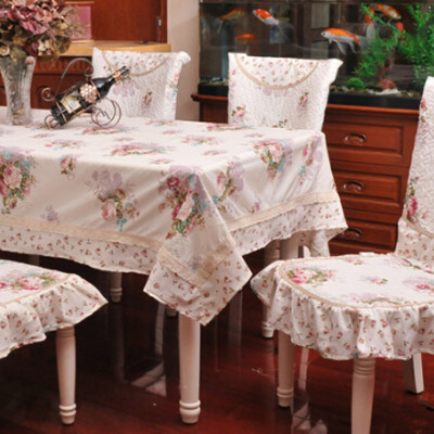 Bamboo table cloth chair covers set tablecloth rustic fabric tablecloth dining table chair cover cloth(China (Mainland))