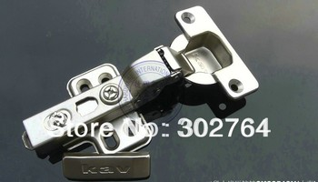 45PCS concealed hydraulic furniture ,cabinet hinge,clip on ,3d fast transfer(+/-2mm) half overlay