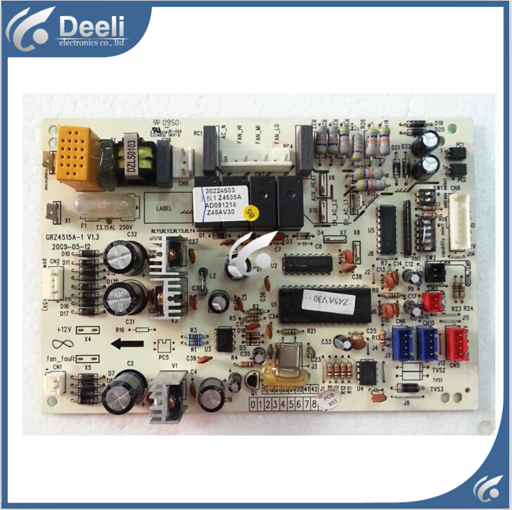Free shipping 100% tested for air conditioning Computer board  Z4535A 30224503 GRZ4515A-1 control board on sale<br><br>Aliexpress