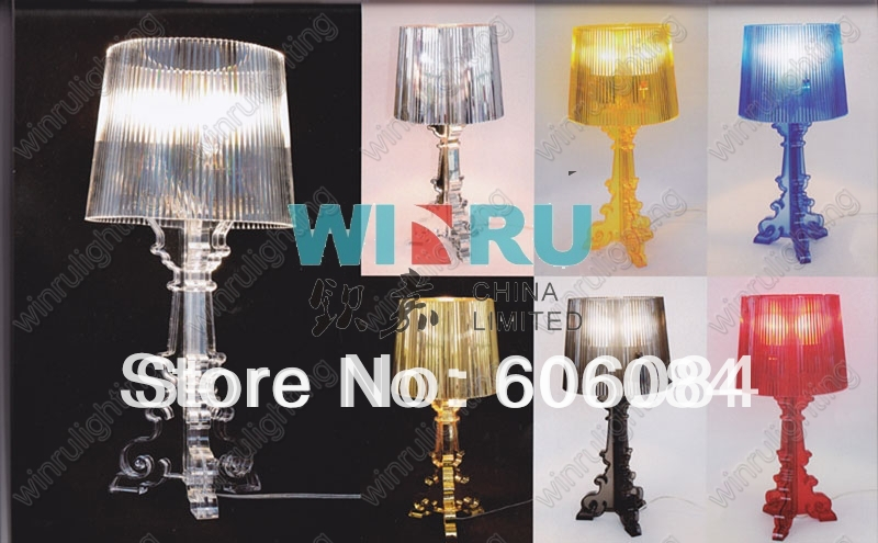 2013 Hot Sale Wholesale Acrylic Table Lamp For Bedroom