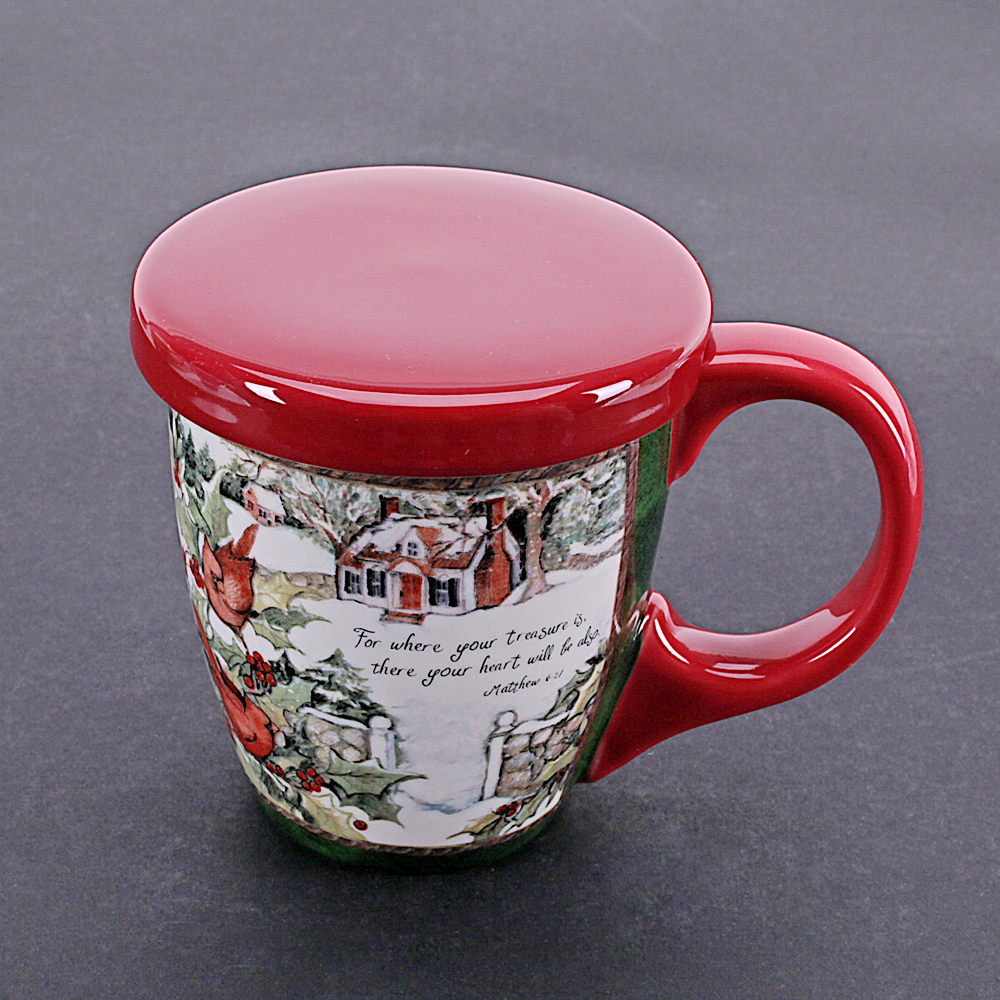 hand painting america pastoral style ceramic tea coffee