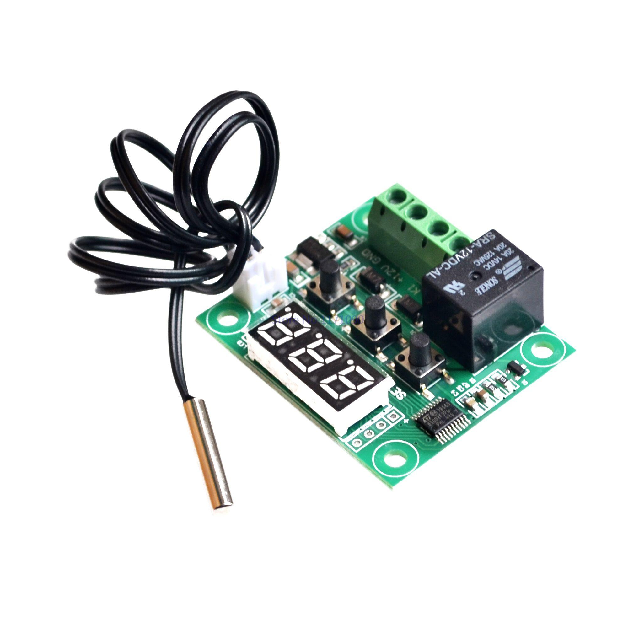 12V heat cool temp thermostat temperature control switch temperature  #2AA17C