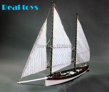 1:24 láser de corte de madera velero modelo kit : el » Sharpie velero modelo