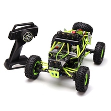 Buy New WLtoys 12428 2.4G 1/12 Remote Control Car 4WD Crawler RC Car LED Light for $84.38 in AliExpress store