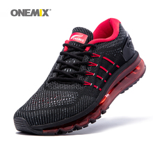 Buy Onemix new sport shoes men running shoes unique shoe tongue design breathable male athletic outdoor sneakers zapatos de hombre for $59.50 in AliExpress store