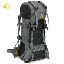 Buy Free Knight FK008 Outdoor 60L Nylon Water Resistant Backpack Mountaineering Camping Bag External Nylon Waterproof Backpack for $39.50 in AliExpress store