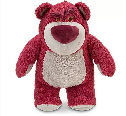 Movie & TV about 38cm Lotso bear plush toy Huggin' Bear - Toy Story 3 doll throw pillow gift w3141(China (Mainland))