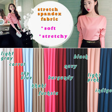 Stretch Spandex Fabric, knitted fabric,Jersey Fabric,Skirt, underdress, elastic fabric, bikini swimwear,BTY, Free shipping.(China (Mainland))