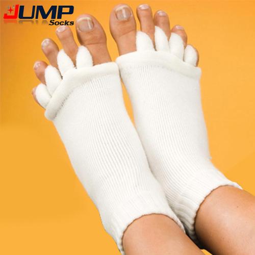 Здоровье Уход За Ногами Массаж Носки Ног Вальгусной уход за ногами пять Пальцев ног ...