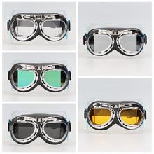 Universal Adult Goggles Pilot Motorcycle motorcycle glasses Ski Bike Goggle Motocross Glasses