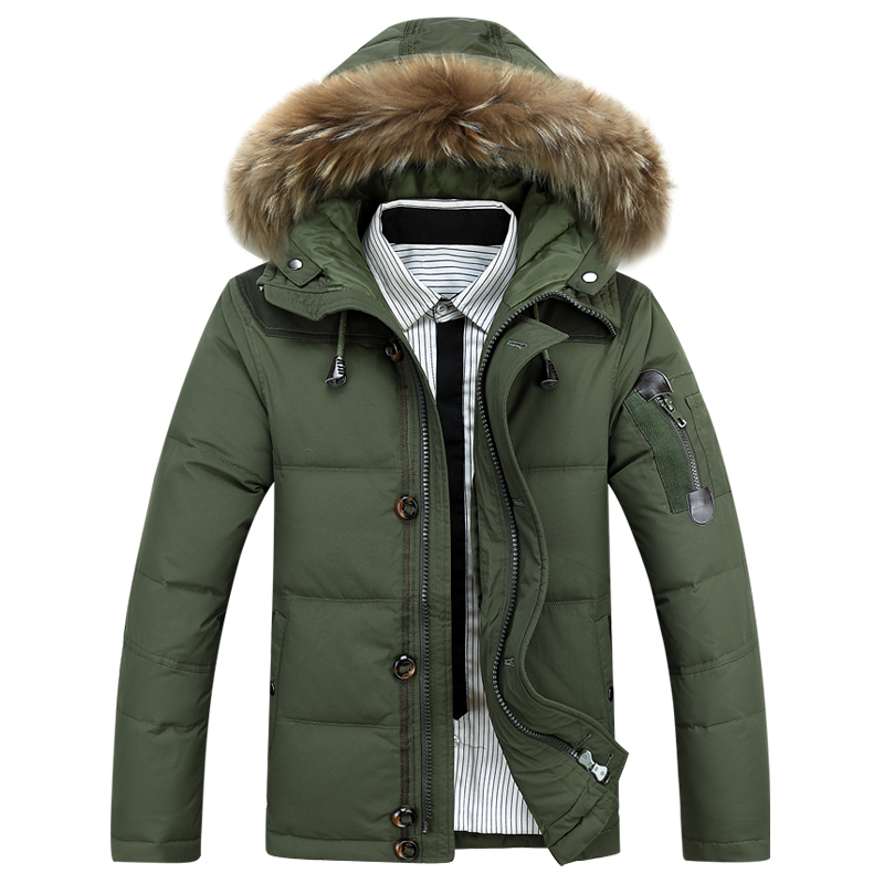 Mens winter Hoodies quilted jacket warm men overcoat parkas Winter cotton padded down coat  military male coat with fur hoodedОдежда и ак�е��уары<br><br><br>Aliexpress