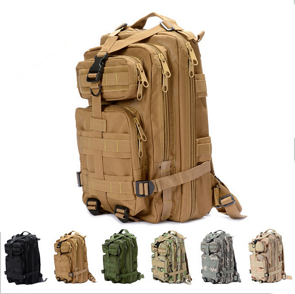 Men's Travel Bags Tactical Backpack Camouflage Outdoor Climbing Army Fans Riding 3P Attack