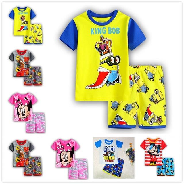 Летние детская одежда комплект мальчик + брючный костюм комплект одежды одежда новорожденного ...