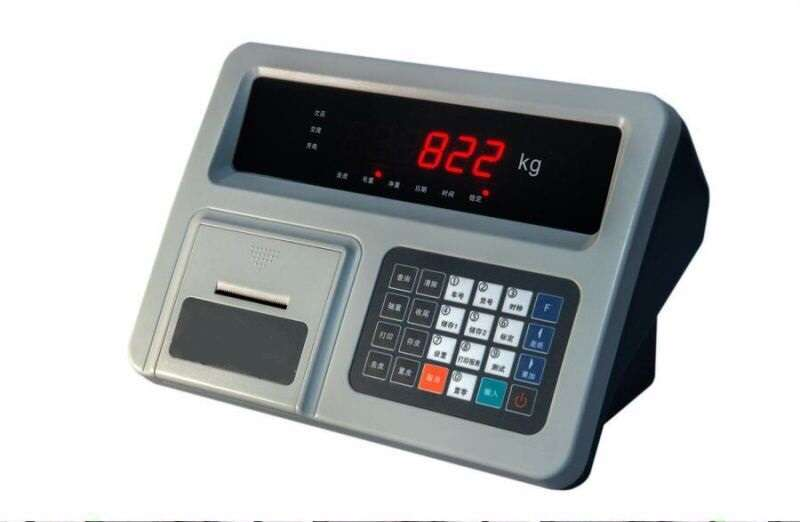 Load cell indicator LED display DX05 PLASTIC digital weighing indicator for truck scale(China (Mainland))