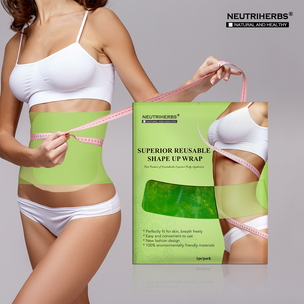 Plastic Belt Waist Body Slimming Shape-Up Wrap Anti Cellulite Fat Burner Products for Weight Loss Reusable Use(China (Mainland))