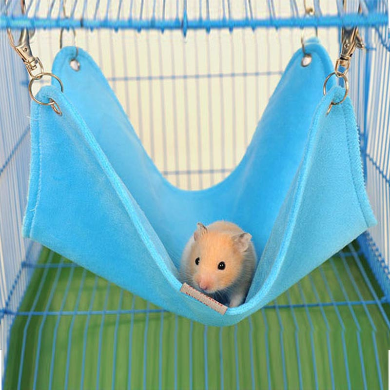 Autumn and Winter Litter Rabbit Hamster Totoro Ferret Guinea Pig Hammock Small Pet Mat Griding Mesh Breathable Bed Free shipping(China (Mainland))